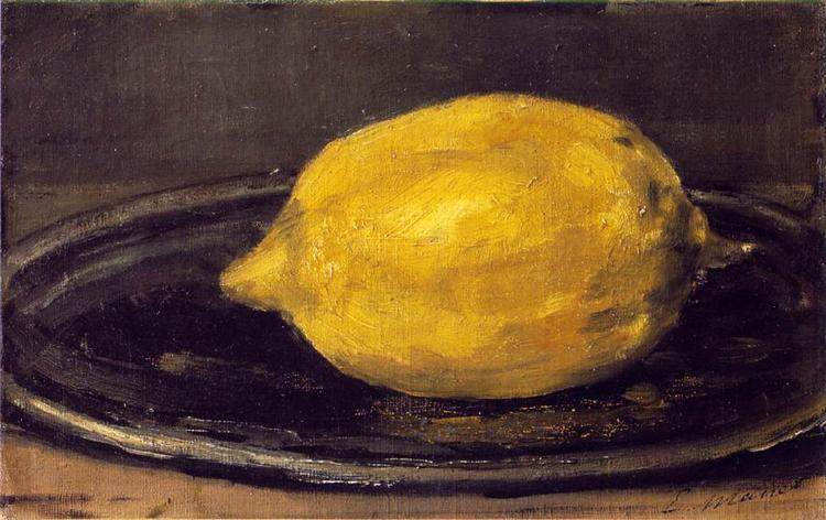 The Lemon, 1880 - Edouard Manet