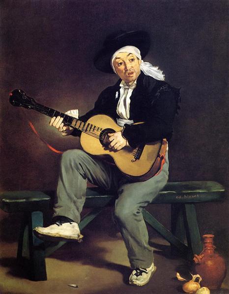 The Spanish Singer, 1860 - Edouard Manet