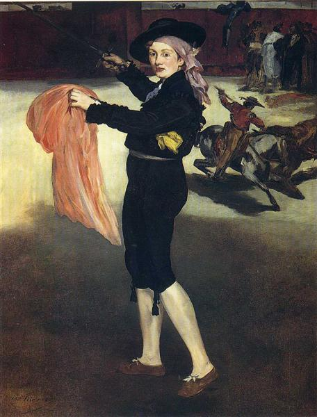 Victorine Meurent in the costume of an Espada, 1862 - Edouard Manet