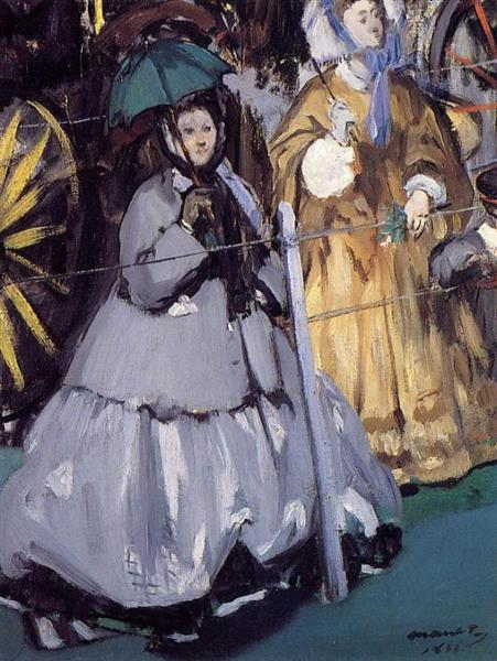 Women at the Races, 1865 - Edouard Manet