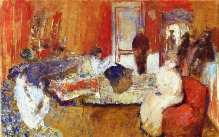 In the Red Room, 1905 - 1907 - Edouard Vuillard