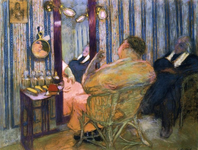Sacha Guitry in His Dressing Room, 1912 - Edouard Vuillard