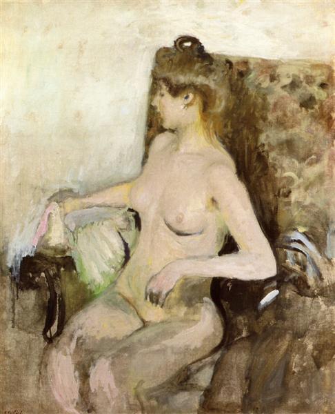 Seated Nude, 1903 - Edouard Vuillard