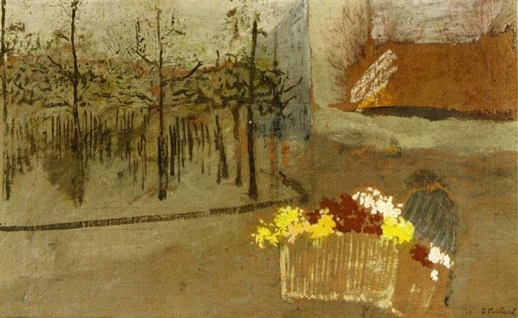 The Florist - Edouard Vuillard