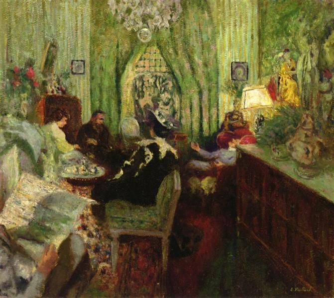 The Salon of Madame Aron, 1911 - 1912 - Edouard Vuillard