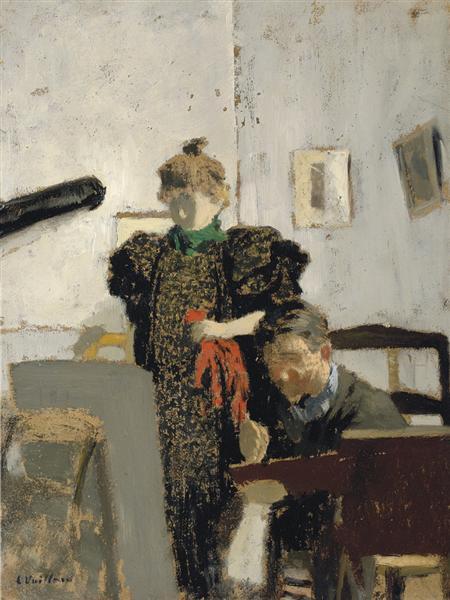 VallotoninNatanson, 1897 - Edouard Vuillard