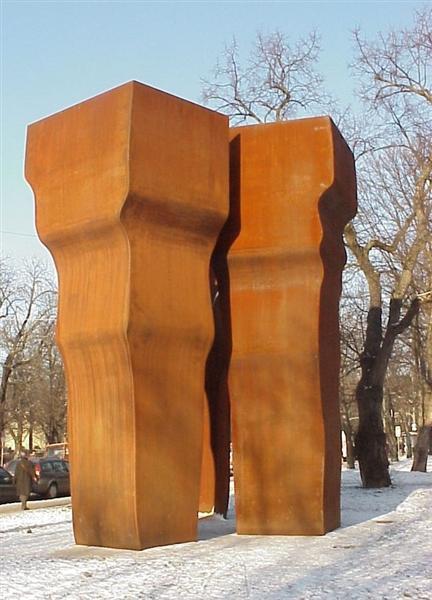 Buscando la luz, 1997 - Eduardo Chillida