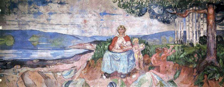 Alma Mater, 1911 - 1916 - Edvard Munch