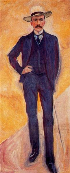 Count Harry Kessler, 1906 - Edvard Munch