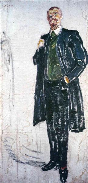 Jens Thiis, 1909 - Edvard Munch