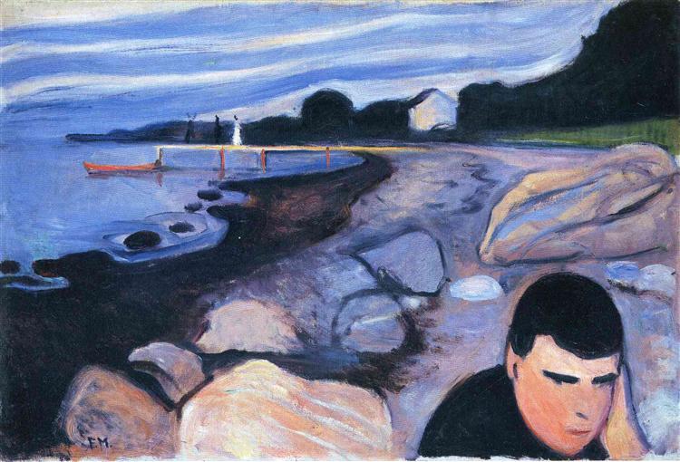 Melancholy, 1892 - Edvard Munch