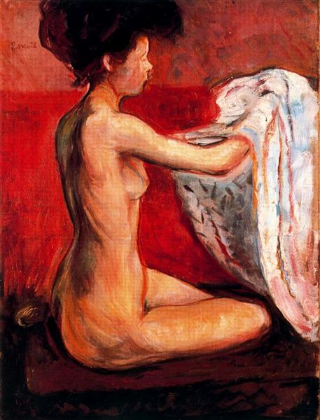 Paris Nude, 1896 - Edvard Munch