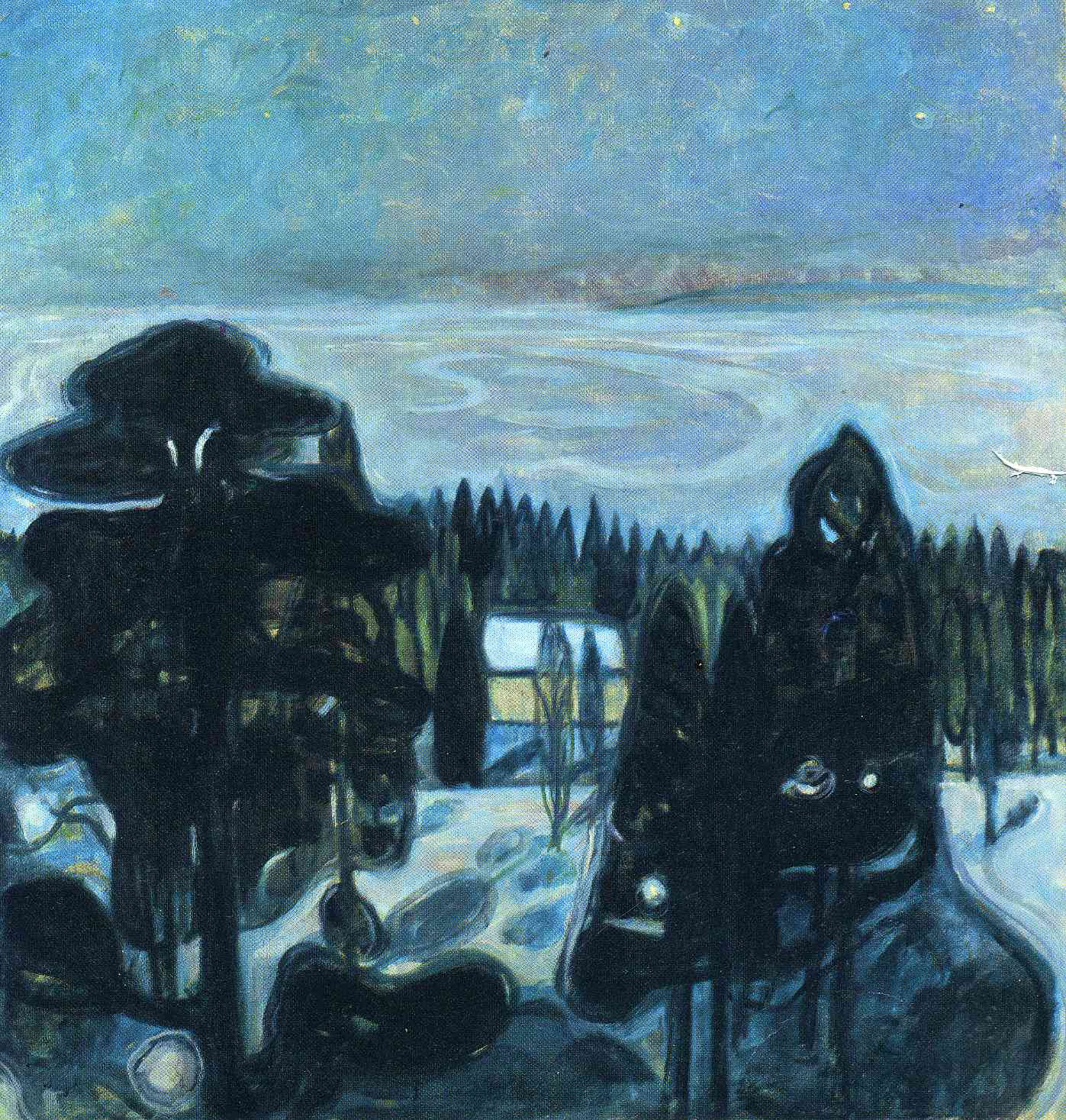 Edvard Munch / Edvard Munk  White-night-1901