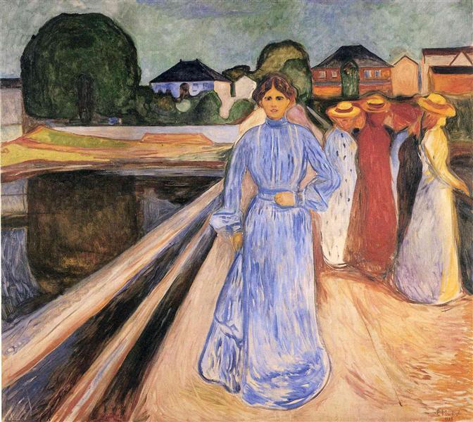 Women on the Bridge, 1902 - Edvard Munch