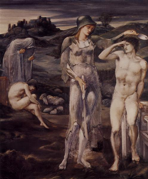 The Calling of Perseus, 1877 - 1898 - Edward Burne-Jones