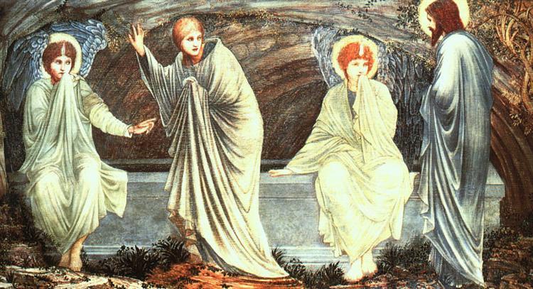 The Morning of the Resurrection, 1882 - Edward Burne-Jones