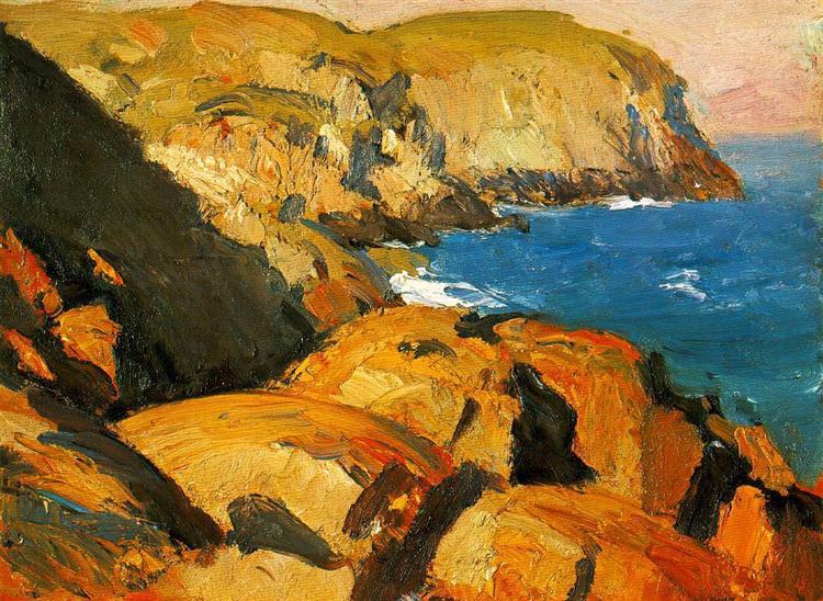 Blackhead, Monhegan, 1916 - 1919 - Edward Hopper