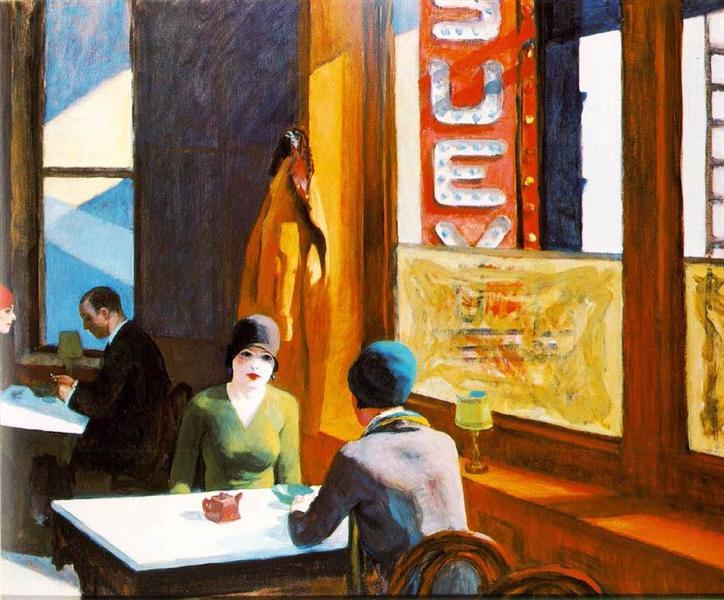 Chop Suey, 1929 - Edward Hopper