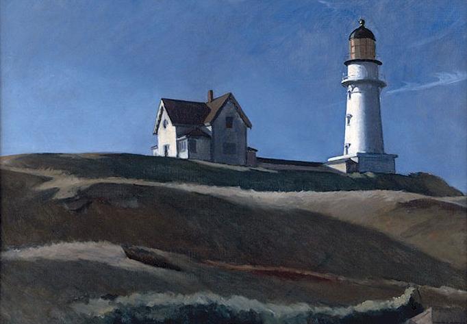 Lighthouse HIll, 1927 - Edward Hopper