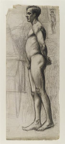 Male Nude, 1903-1904 - Edward Hopper