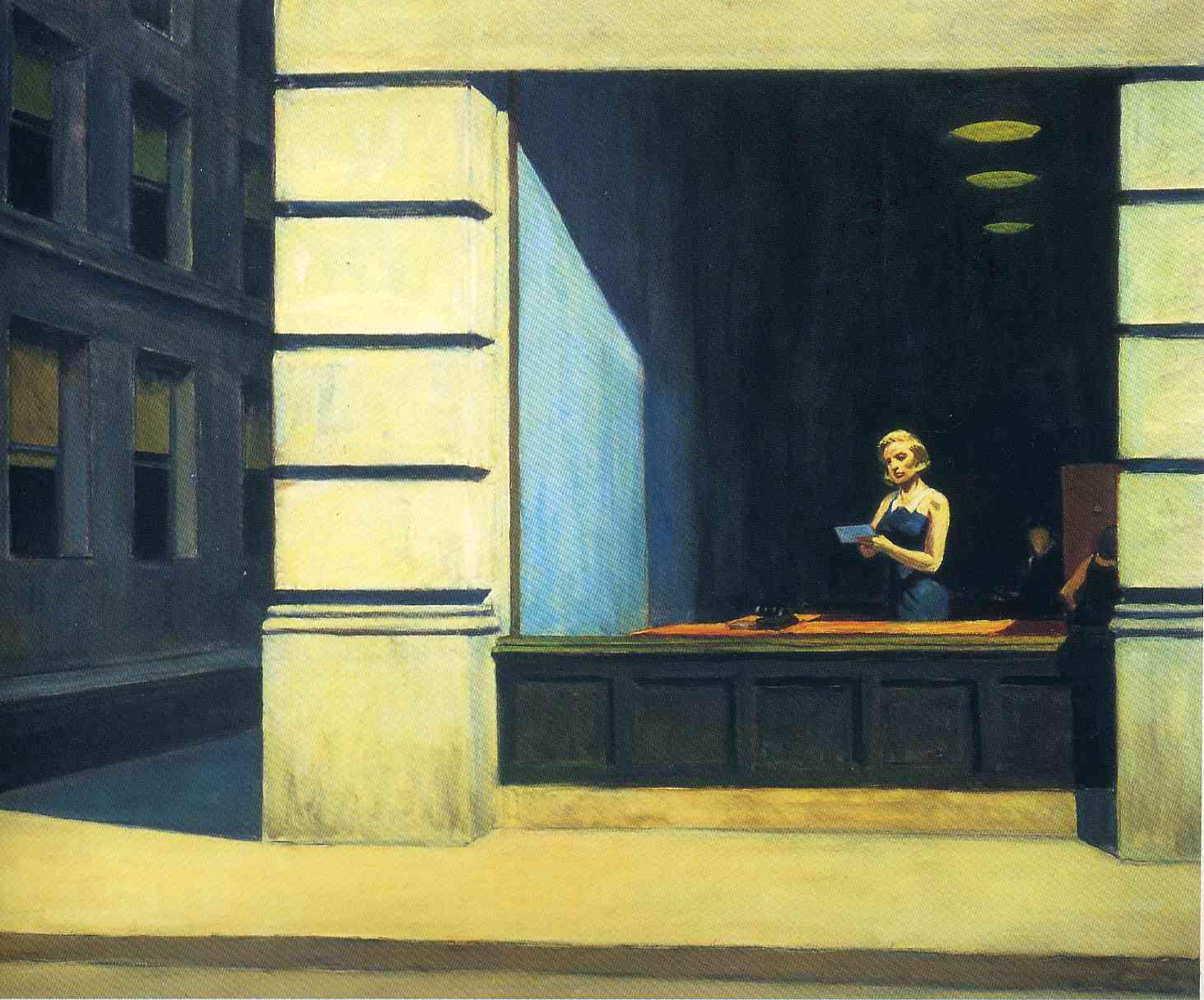 New York Office 1962 Edward Hopper