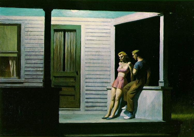 Summer Evening, 1947 - Edward Hopper
