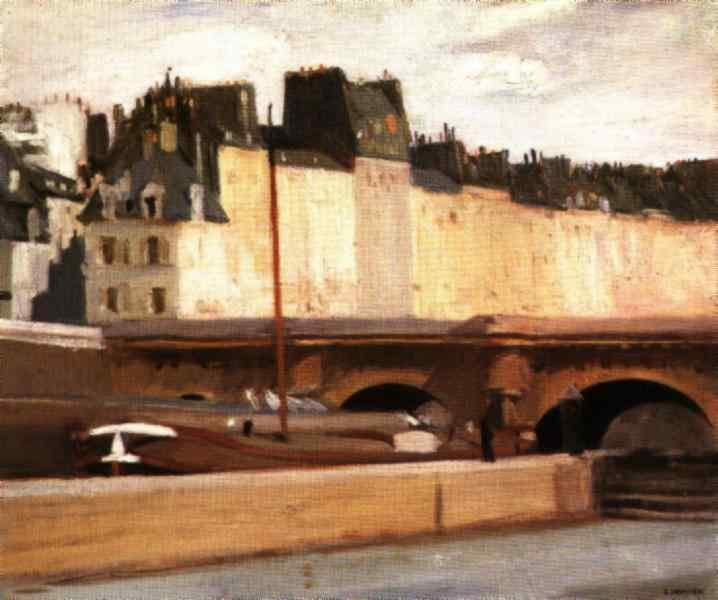 The New bridge, 1909 - Edward Hopper