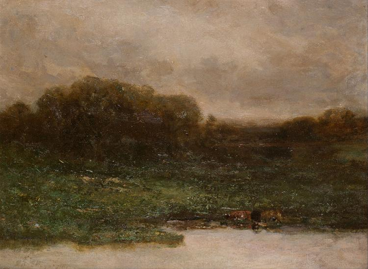 Summer Twilight, 1899 - Edward Mitchell Bannister