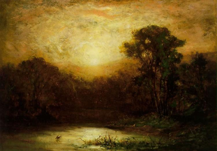 Sunset - Edward Mitchell Bannister