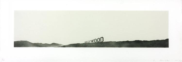 Hollywood, 1969 - Edward Ruscha