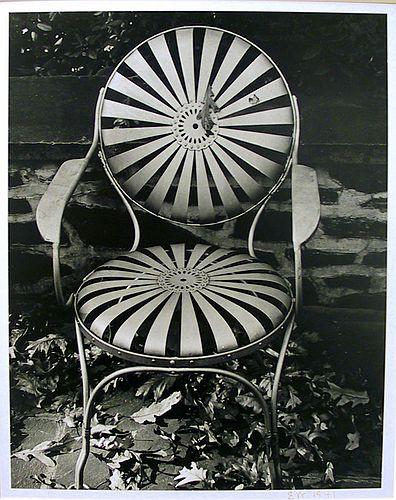 Garden Chair, Autumn, 1941 - Edward Weston