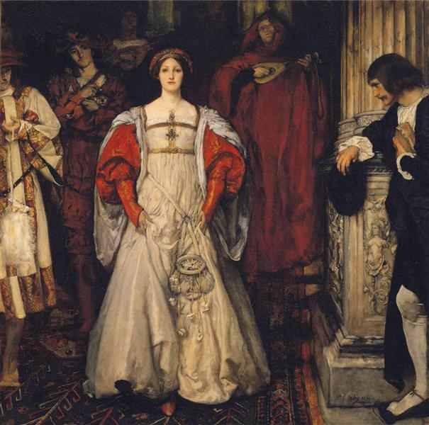 Who is Sylvia?, 1900 - Edwin Austin Abbey