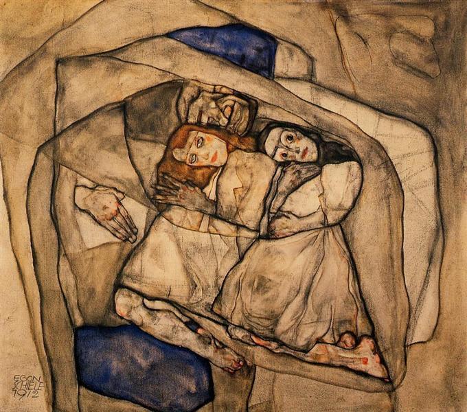 Conversion, 1912 - Egon Schiele