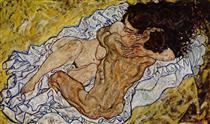 The Embrace - Эгон Шиле