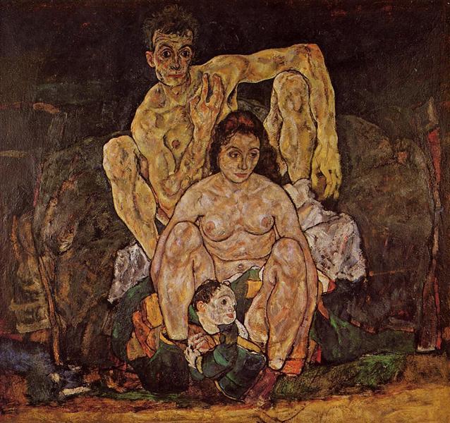 The Family - Egon Schiele