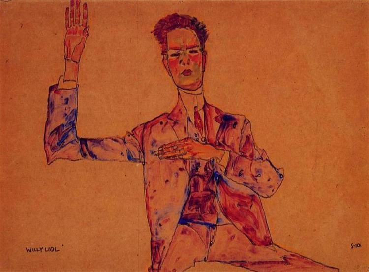 Willy Lidl, 1910 - Egon Schiele