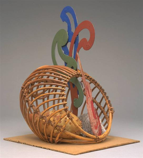 Fish Basket, c.1965 - Eileen Agar