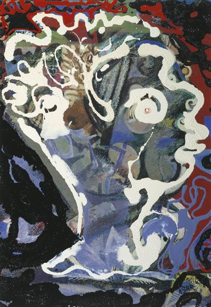 Head of Dylan Thomas, 1960 - Eileen Agar