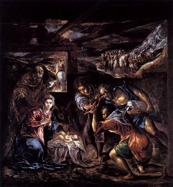 Adoration of the Shepherds, c.1570 - El Greco