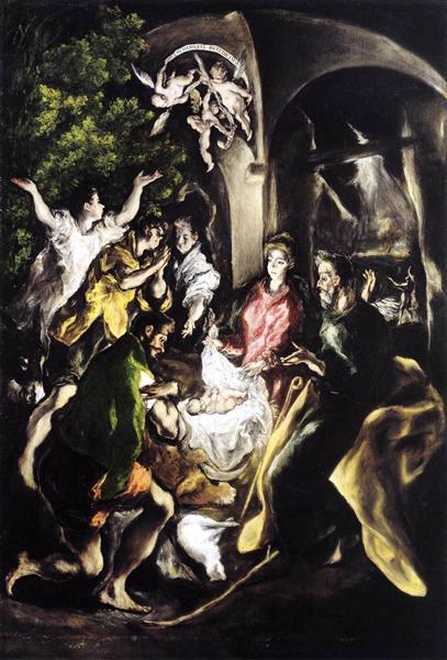 Adoration of the Shepherds, c.1610 - El Greco