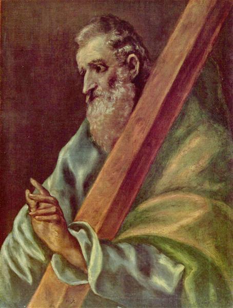 Apostle St. Andrew, c.1610 - El Greco