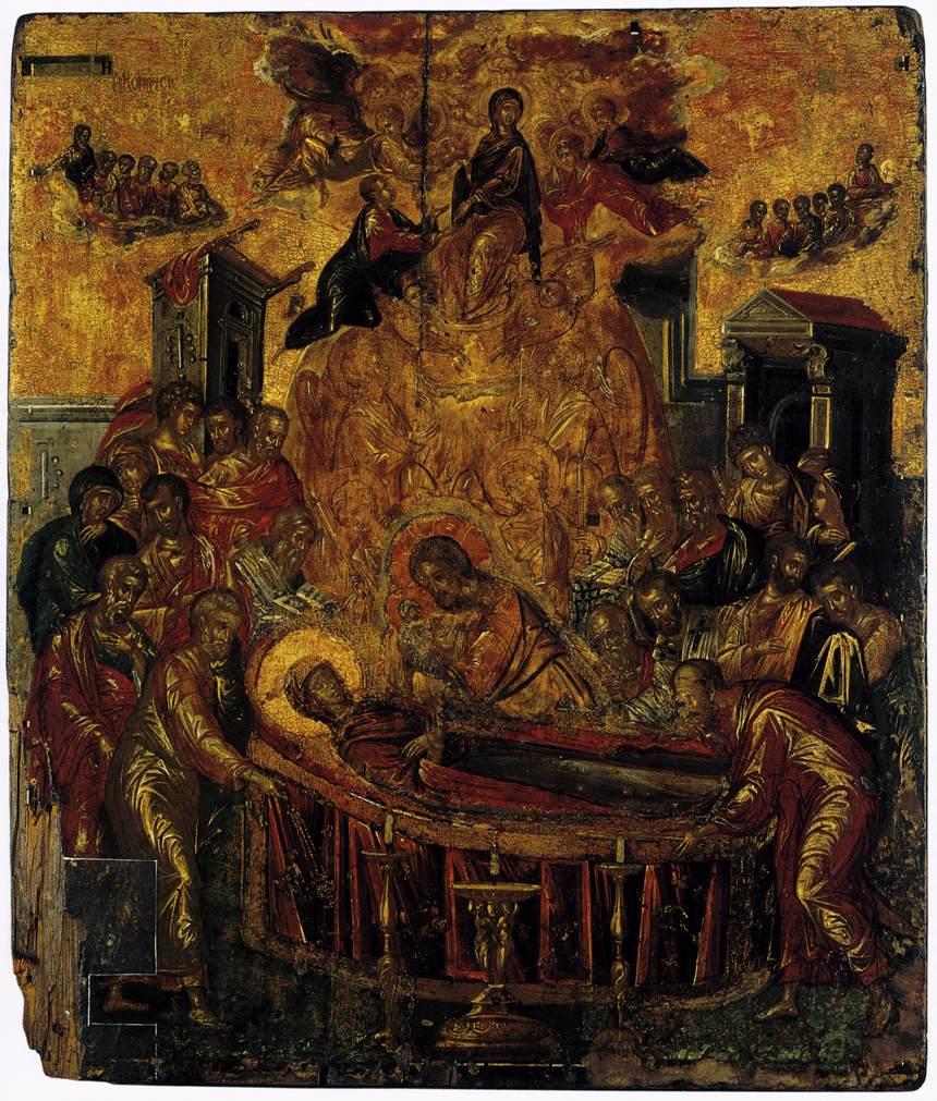 Image result for Dormition of the Virgin (El Greco)