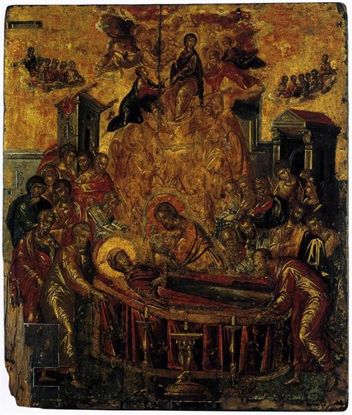 Dormition of the Virgin - El Greco