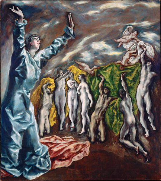 Opening of the fifth seal (The vision of Saint John the Divine), c.1610 - El Greco