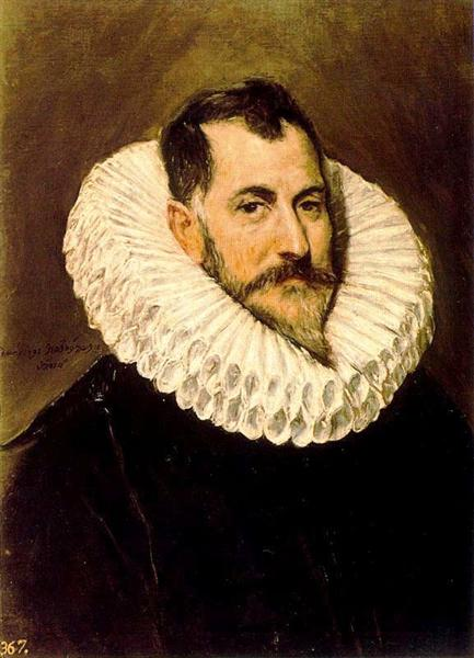 Download Portrait of a man, c.1600 - El Greco - WikiArt.org