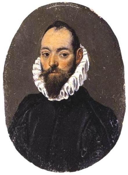 Portrait of a man, c.1586 - El Greco