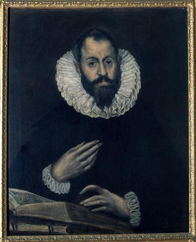 Stile Peplo Greco: Portrait Of Alonso De Herrera