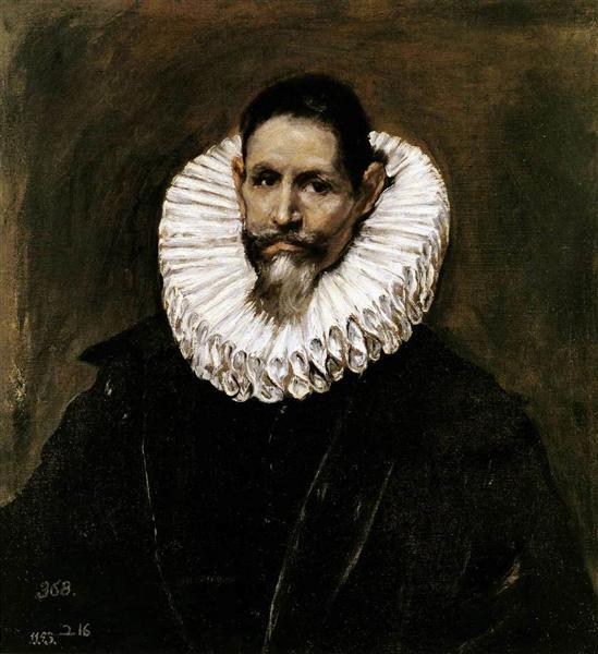 Portrait of Jeronimo de Cevallos, 1613 - El Greco
