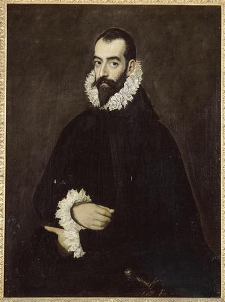 Portrait of Juan Alfonso de Pimentel y Herrera - Ель Греко
