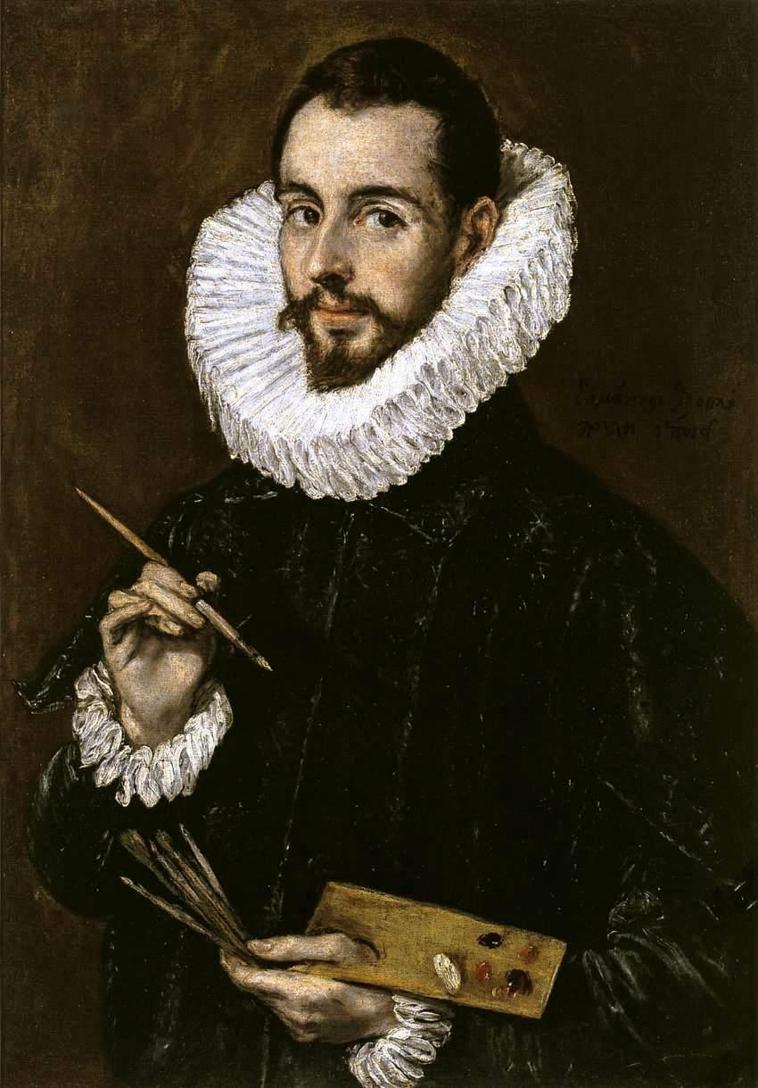 portrait of the artist s son jorge manuel theotokopoulos - La Galería Española de Luis Felipe I de Francia en el Louvre